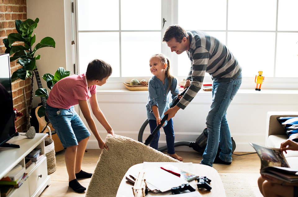 Give your Child House Chores & Help Them Grow Into Responsible Adults