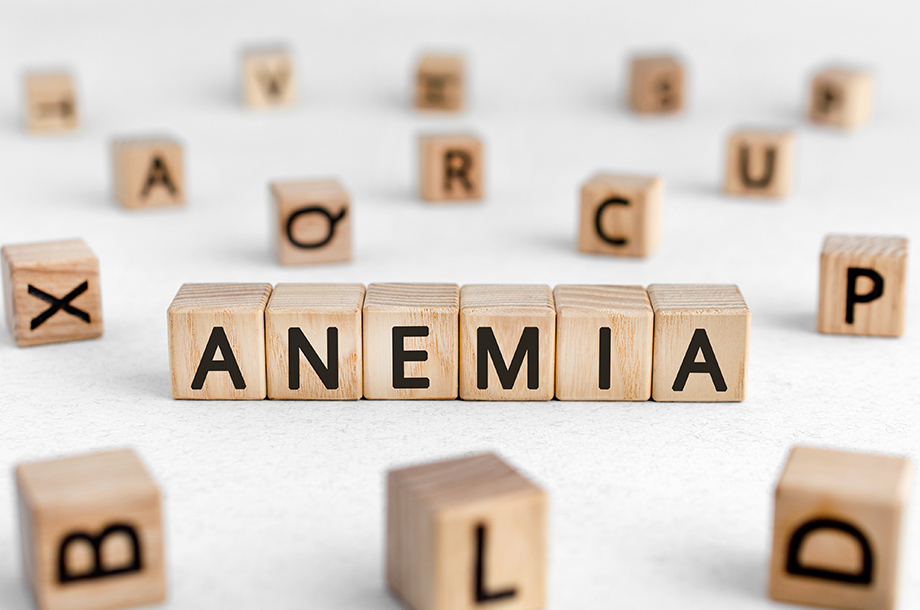 How many types of anaemia are there?