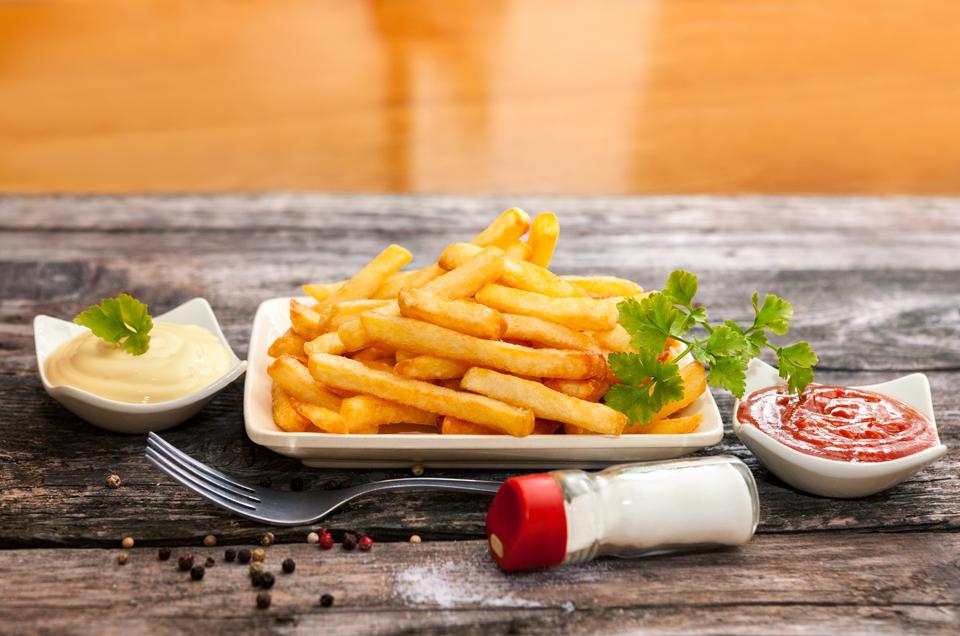 Ayurvedic Baked Potato Chips for Children