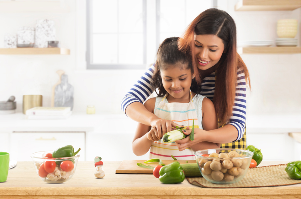 6 Simple Ways You Can Involve Children in the Kitchen