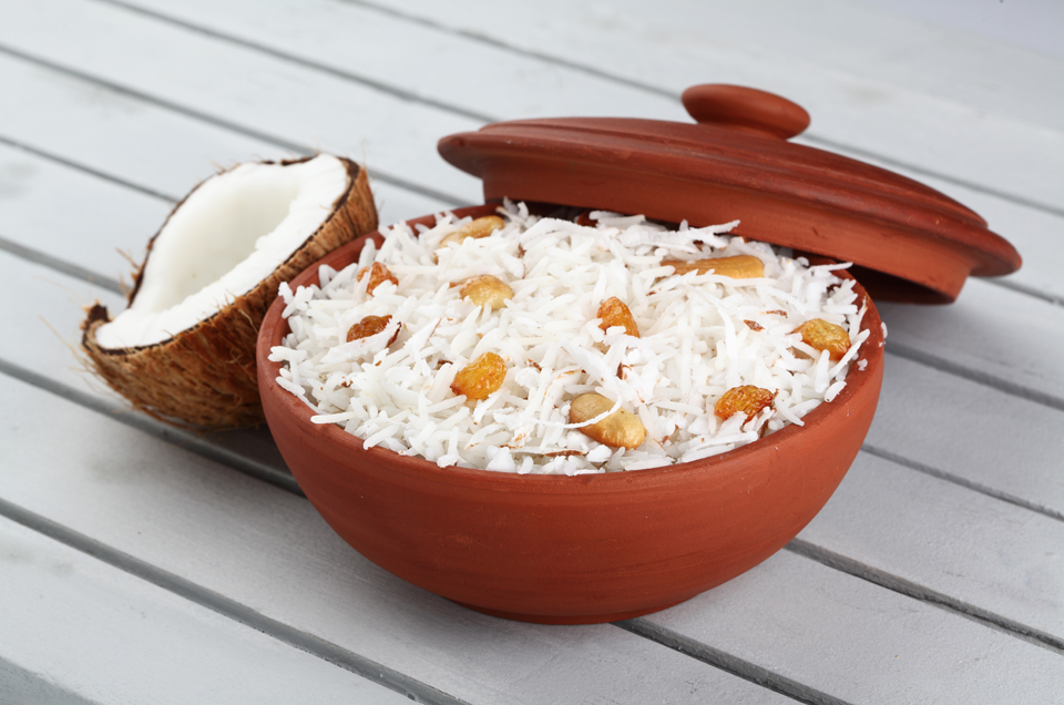 Basmati Rice With Corn And Coconuts: A Savory Delight