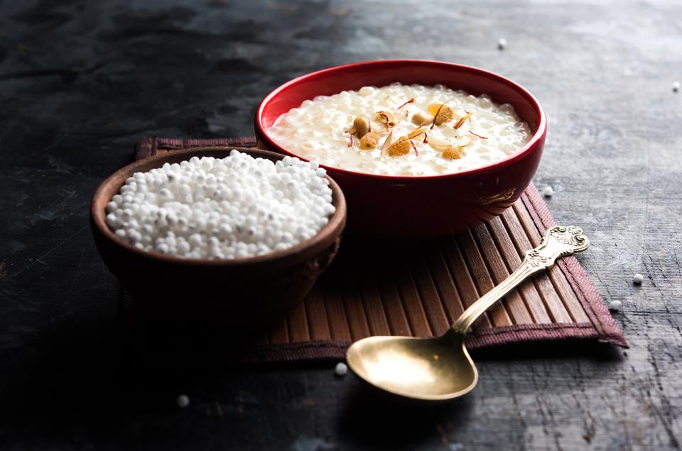 Lemon and Saffron Sabudana Pudding - A Treat for Your Tastebuds & Your Body