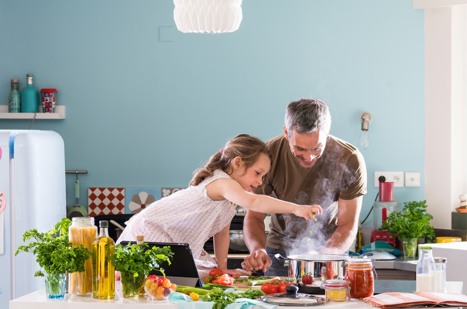 Here's Why You Should Start Cooking With your Children