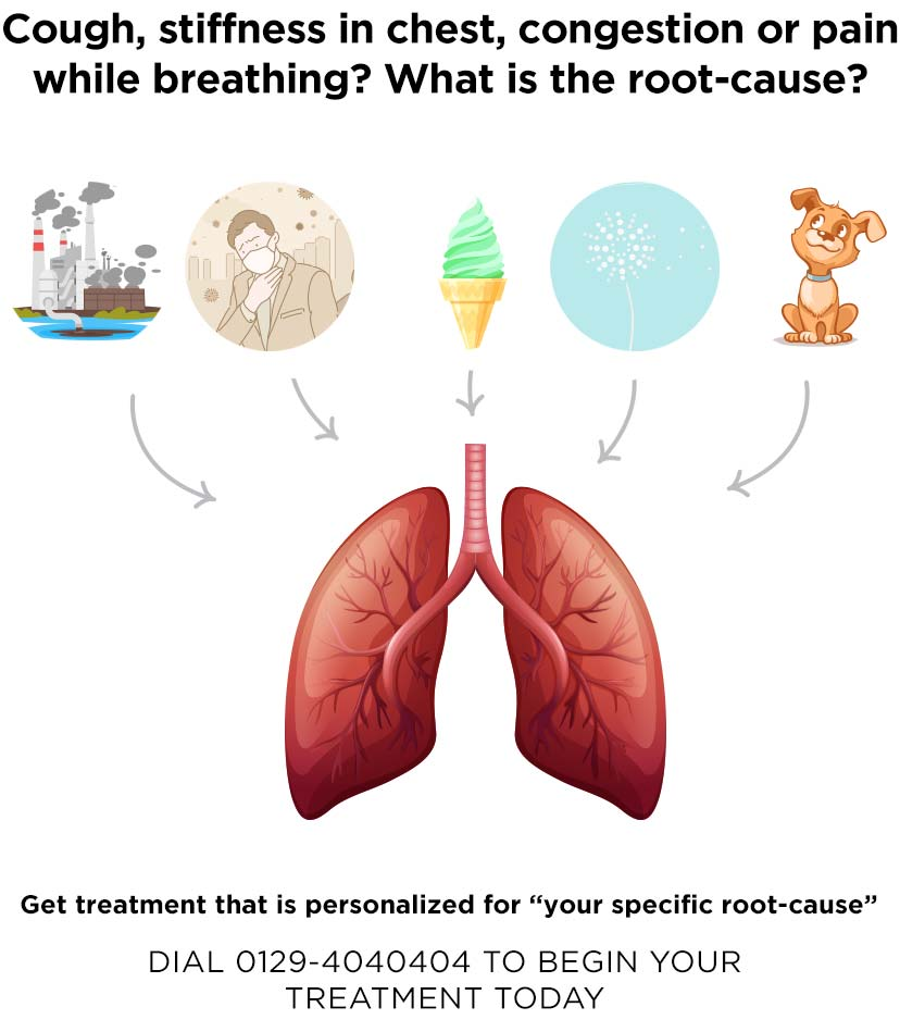 What Ayurveda says about the causes of respiratory problems?