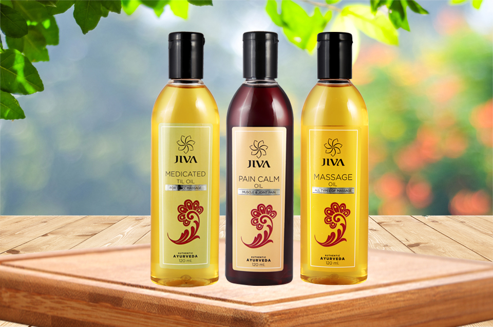 Jiva Ayurveda Oils for Relief in Joint Pains