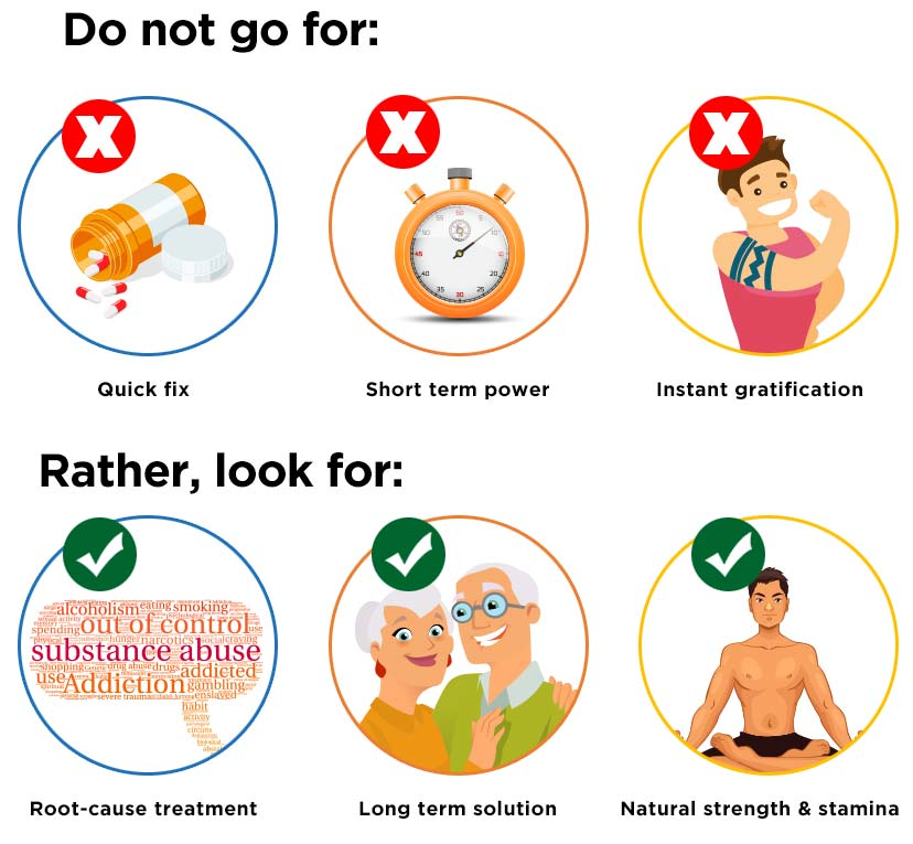 Why Ayurveda treatment is different and better than quick-fix solutions?
