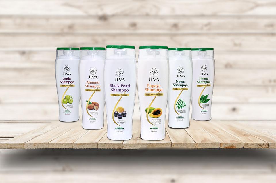 Benefits of Jiva Ayurvedic Shampoos