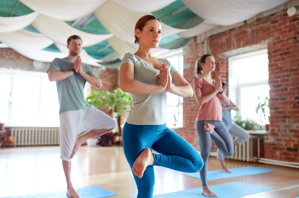 Give Your Mind a (Well Deserved!) Break with These Balancing Yoga Poses