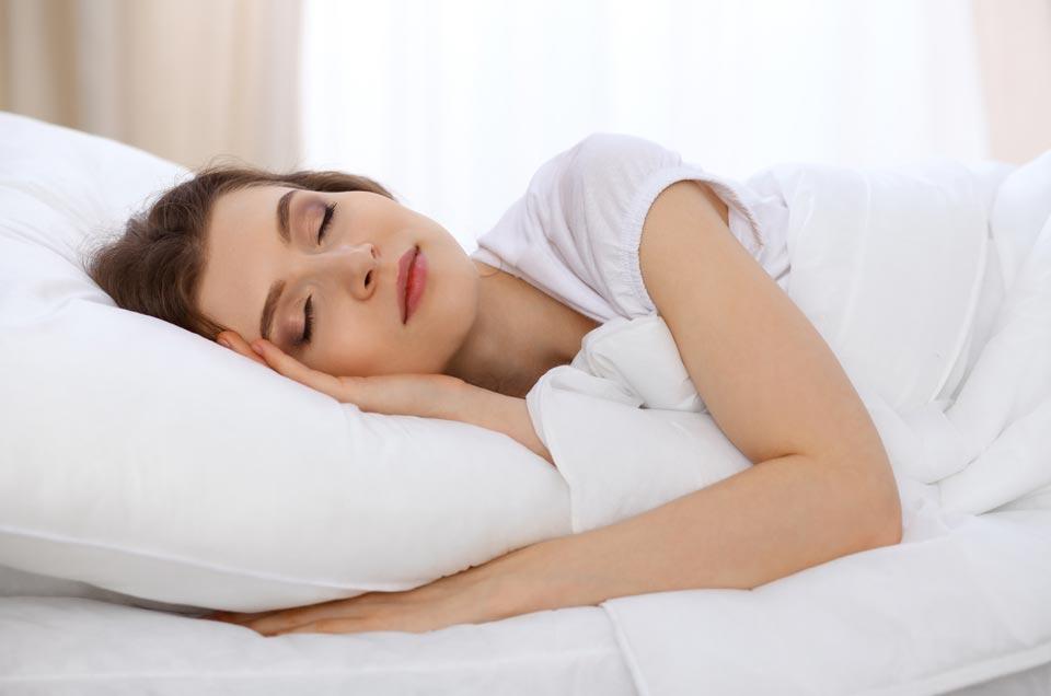 Sleeping better without sleep medication