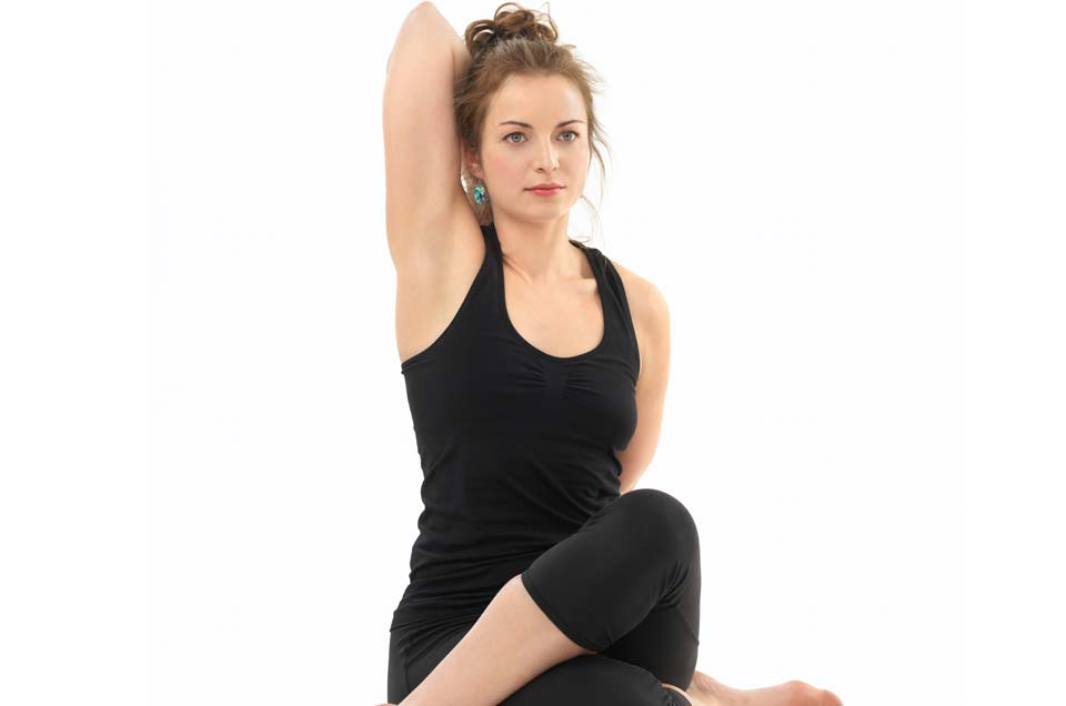 How to do Gomukhasana