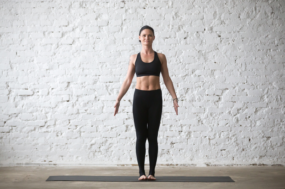 Steps and benefits of Tadasana