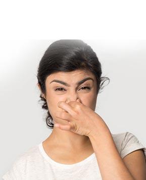 Unpleasant body odour